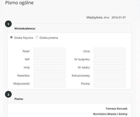 Interaktywne formularze ePUAP