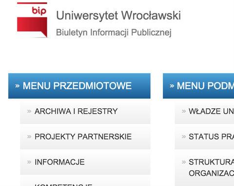 Biuletyn Informacji Publicznej wraz z modułem aktów normatywnych